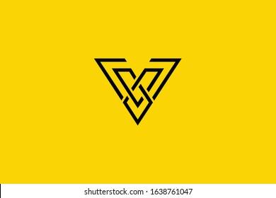 Creative Innovative Initial V logo and VV logo. V Letter Minimal luxury Monogram. Professional initial design. Premium Business typeface. Alphabet symbol and sign.