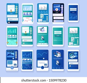 Creative and intuitive user interface design. Large set of ready screens. Statistics, analytics, infographics. Visual representation of data on screen of your smartphone. Ready-made custom design.