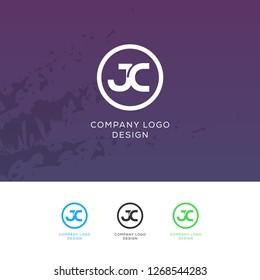 Creative J C Letter Logo