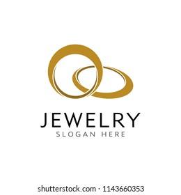 CREATIVE JEWELRY RING LOGO DESIGN