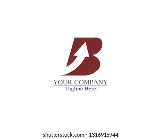 Creative Letter B logo template design
