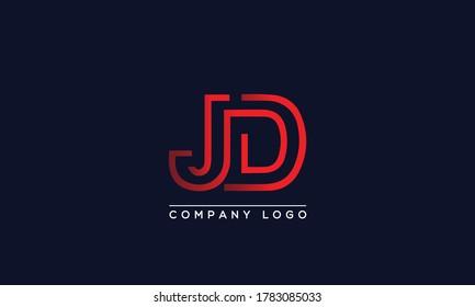 jd design images stock photos vectors shutterstock https www shutterstock com image vector creative letter jd dj logo design 1783085033