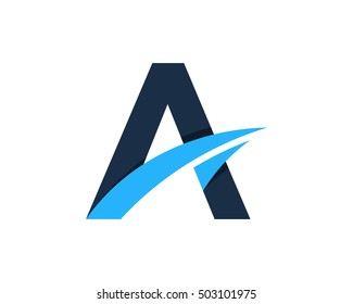 Creative Letter A Logo Design Template