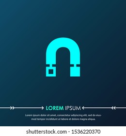 Creative  letter n digital circuit style font. Blue letter made of electric current wires and connectors. Modern design concept.