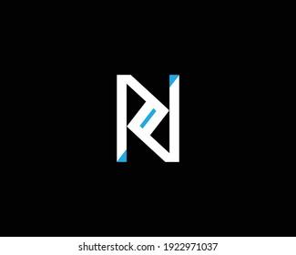 creative letter NZ logo design vector template