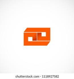 Creative Letter P Design Vector