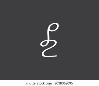 creative letter PZ logo design vector template