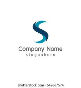 Creative Letter S element logo design