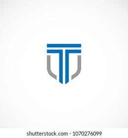 Creative letter T law vector designs