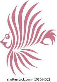 Creative Lion Fish Illustration