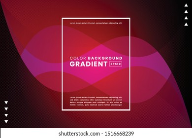 Creative liquid shape gradient background pink. Applicable for Poster template, landing page, ui, ux ,coverbook, baner, social media posted