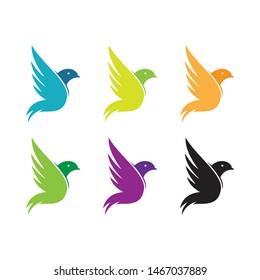 creative logo bird vector collection