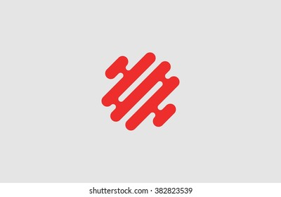 Creative logo. Brain logo. Minimalistic logo design. Abstract logo.