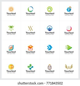Creative logo collection, logo and icon design for business, creative vector logo template