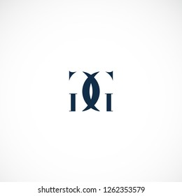 Creative logo design double letter G