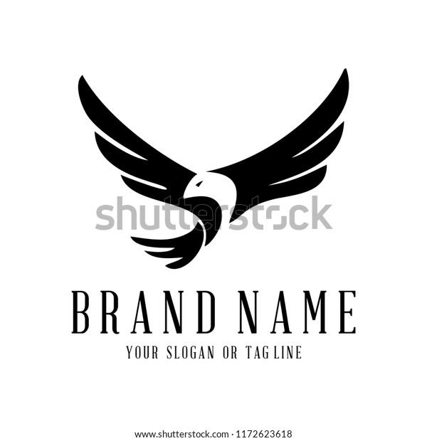 creative logo design Eagle vector