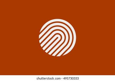 Creative logo design. Minimalistic design element.