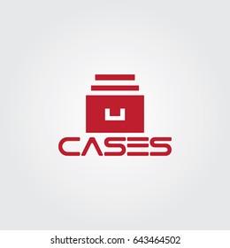 Creative logo design and Unique symbol with files.