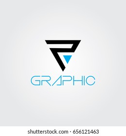 Creative logo design and Unique symbol with p and a.