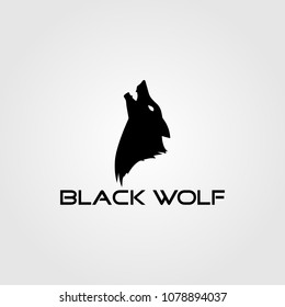 Creative logo design and Unique Wolf mascot.