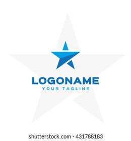 Creative logo template in a minimalist style