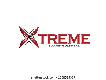 Creative logo X