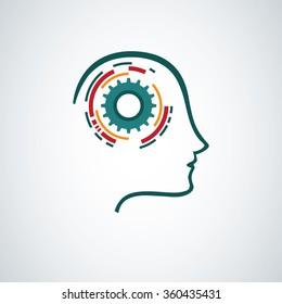 Creative mind concept design.