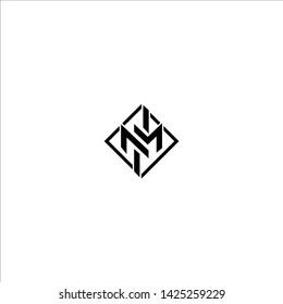 Creative minimal business brands NM MN N M