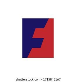 Creative and Minimal FF or FJ logo design vector for beauty fashion brand
