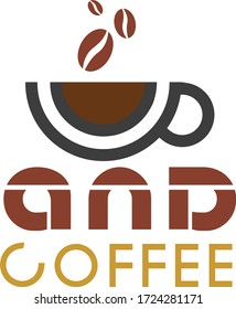 Creative and Minimalist Coffee Company Logo