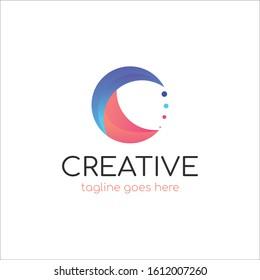 Creative modern C Letter Logo