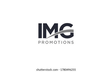 Creative and modern IMG letter logo for company and business logo design vector editable