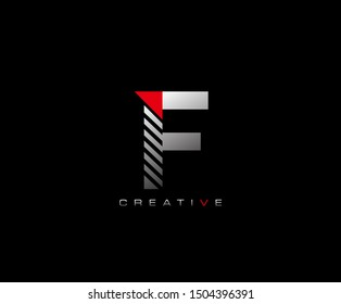 Creative Modern Letter F logo, Techno F Letter Logo Icon.