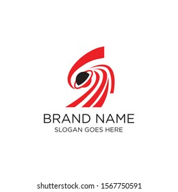 Creative and modern planet logo design template vector eps for use technology or science  purpose