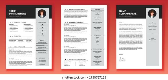 Creative And Modern Resume  CV Template