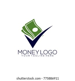Creative Money Logo Design Template