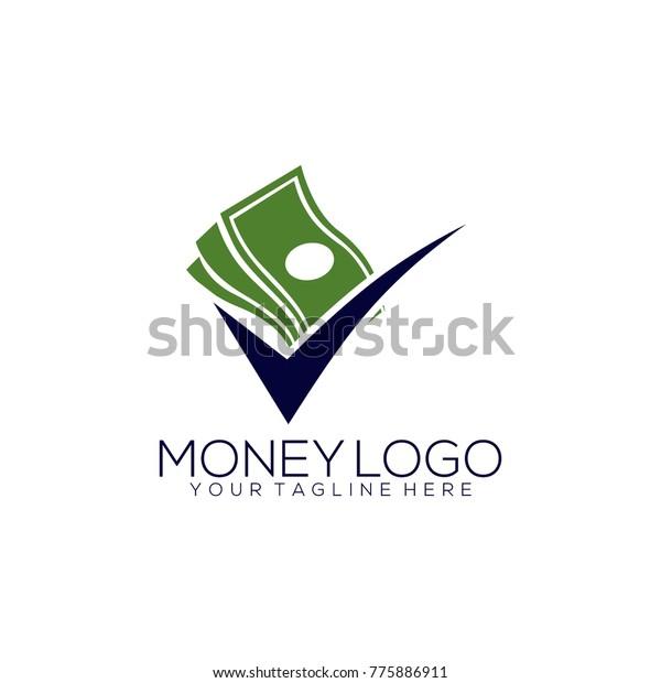 Creative Money Logo Design Template Stock Vector Royalty Free 775886911