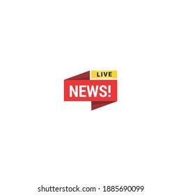 Creative news logo template collection