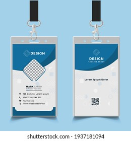 Creative Office  ID card design template