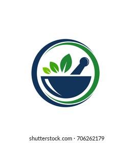 Creative Pharmacy Concept Logo Design