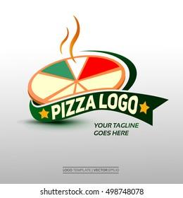 Creative Pizza Logo Template. Vector Illustration Eps. 10
