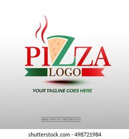 Creative Pizza Logo. Vector Illustration Eps. 10