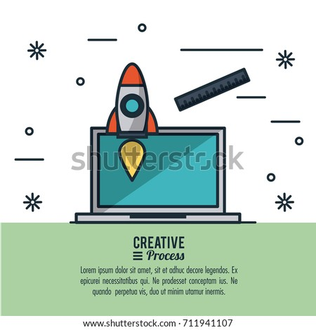 Creative Process Infographic Stock Vector (Royalty Free ...