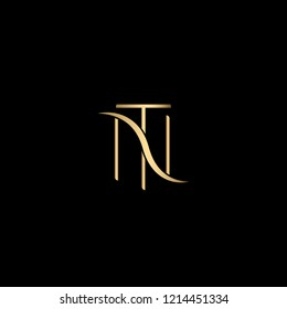 Creative Professional Initial Letter NT or TN Logo Design Using Letters N T | Professional Letter NT or TN Logo Design in Vector Format