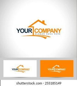 Creative Real Estate Logo Design. House Logo Design. Real Estate Vector Icon.