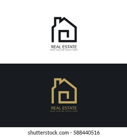 creative real estate logo design