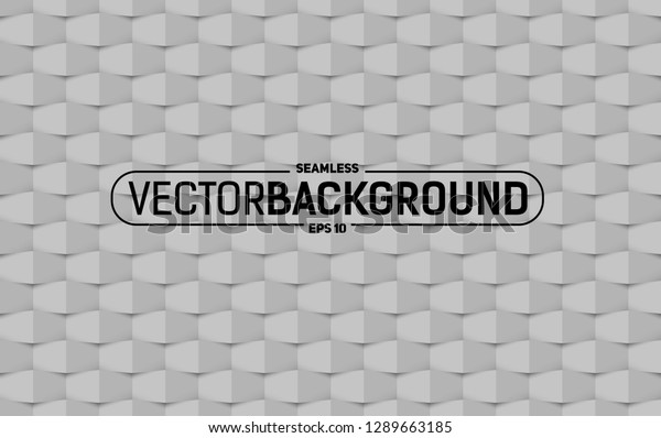 Creative Seamless Texture Background Volume Shadow Stock Vector ...