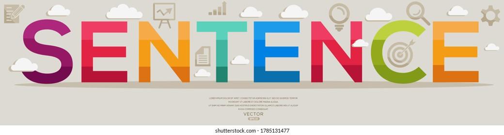 Kreatives (Satz) Design, Buchstaben und Symbole, Vektorgrafik.