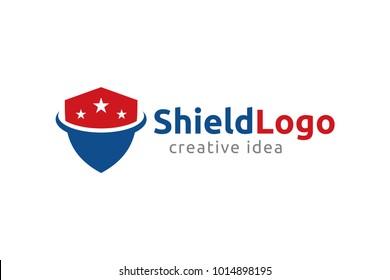 Creative Shield Logo and Icon Template
