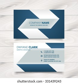 creative simple business card vector design